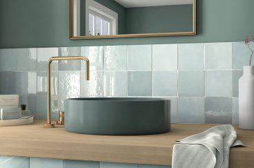 Azulejo Artisan Aqua 13.2x13.2cm