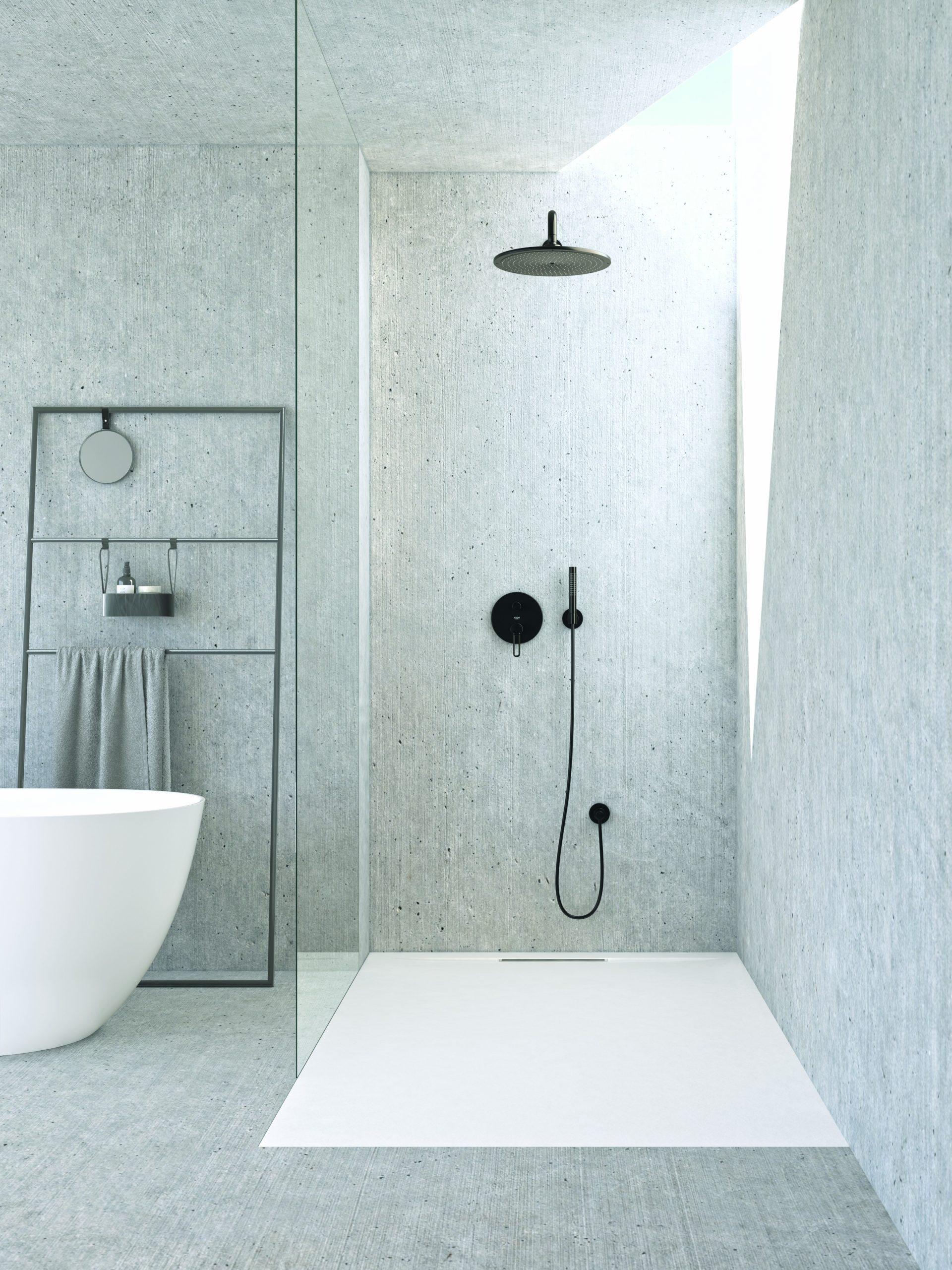 Plato de ducha de resina Amaris Marzzo